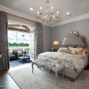 Example of a trendy bedroom design in New Orleans