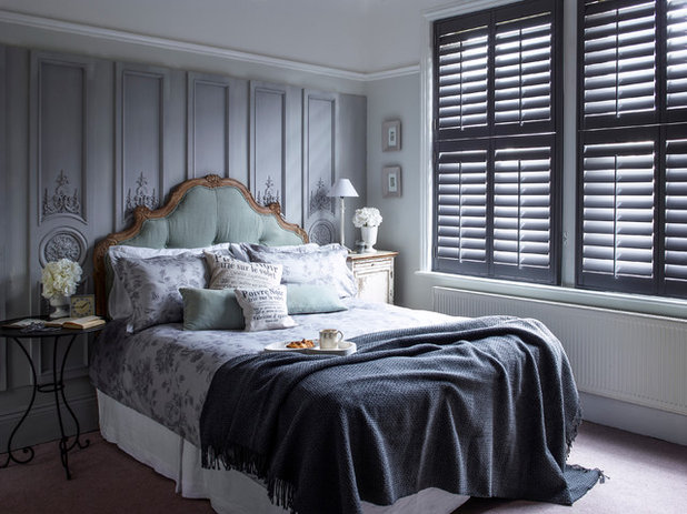 French Country Bedroom by California Shutters