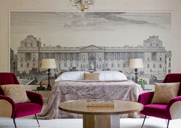 Contemporary Bedroom by Raji RM
