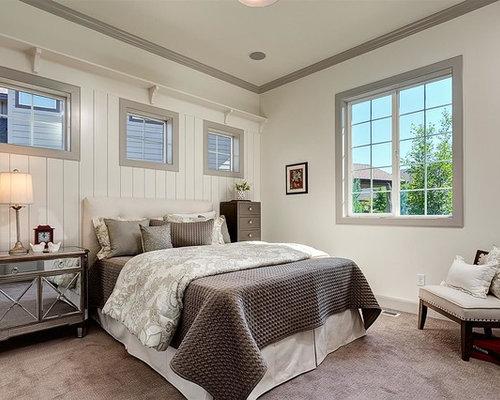White wall grey trim houzz - Grey and white walls ...