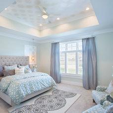 Transitional Bedroom by Joe Carrick Design - Custom Home Design