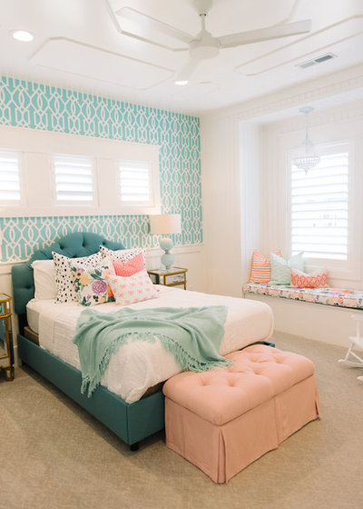 Transitional Bedroom by Millhaven Homes