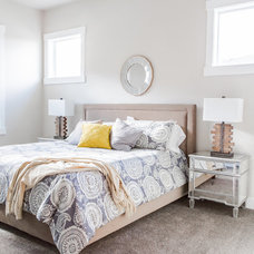Transitional Bedroom by Pahlisch Homes, Inc.