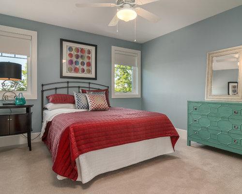 Craftsman bedroom ideas design photos houzz for Craftsman bedroom ideas