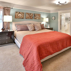 Transitional Bedroom by Dana Austin Griggs | Real Estate Group