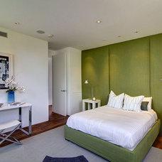 Modern Bedroom by Meridith Baer Home