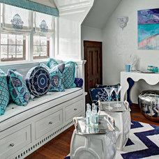 Contemporary Bedroom by Kristina Rovtar