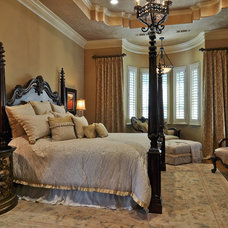 Traditional Bedroom by Larry Stewart Custom Homes