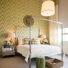 Contemporary Bedroom by Cheryl Ketner Interiors