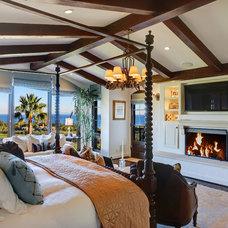Mediterranean Bedroom by Burdge & Associates Architects