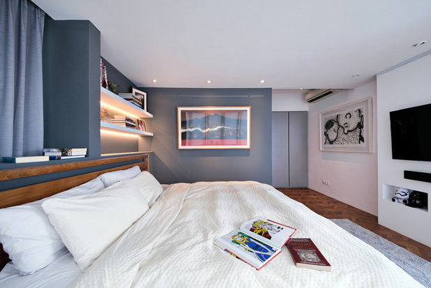Contemporary Bedroom by Free Space Intent