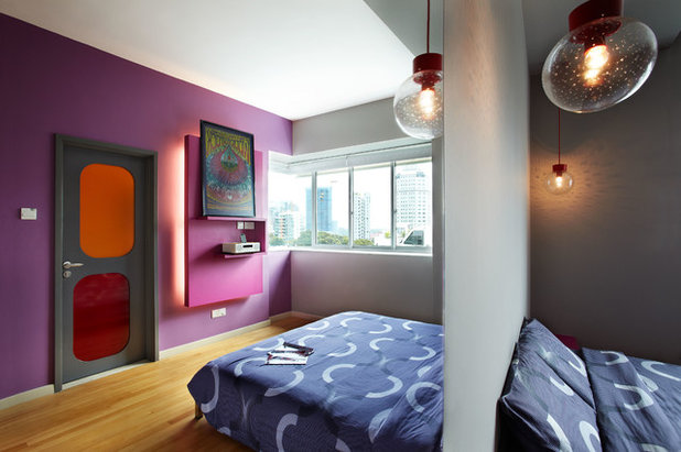 Eclectic Bedroom by Free Space Intent