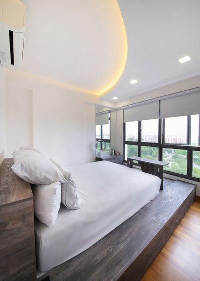Scandinavian Bedroom by DAP Atelier