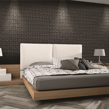 3-Dimensional Feature Tiles - Frame Negro