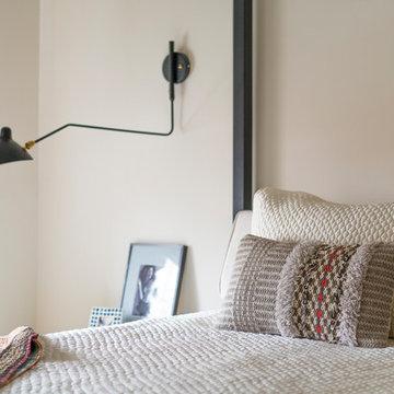 3 Modern Bedrooms & Master Bath Redesign