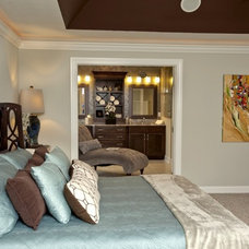 Traditional Bedroom by Couture Design and Staging