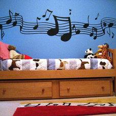 Eclectic Bedroom by Wilson Design