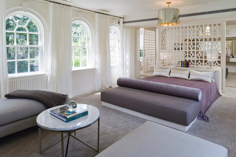 contemporary bedroom by Kimberley Seldon Design Group