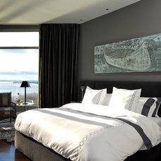 Contemporary Bedroom by Hennessey inc