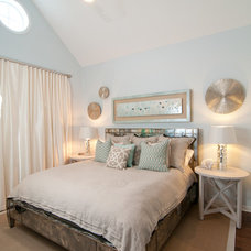 Beach Style Bedroom by Lovelace Interiors