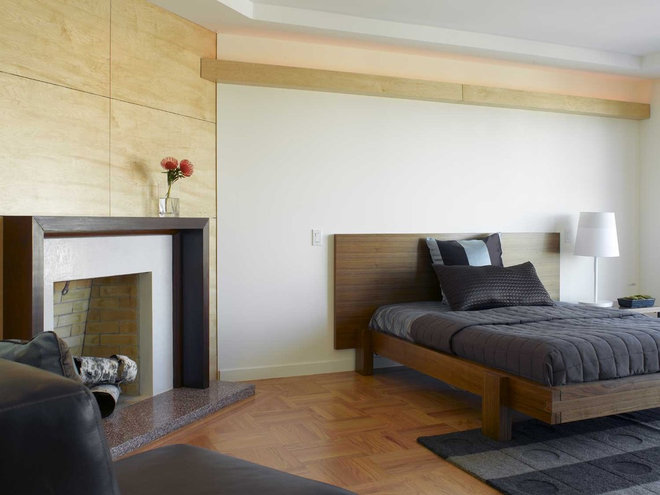 Modern Bedroom by Levy Art & Architecture