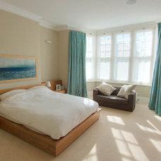 Contemporary Bedroom by Moon Design + Build