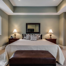 Transitional Bedroom by Steele Consulting Group