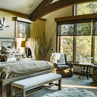 Bedroom - craftsman bedroom idea in Other