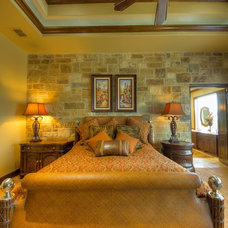 Mediterranean Bedroom by Burdick Custom Homes