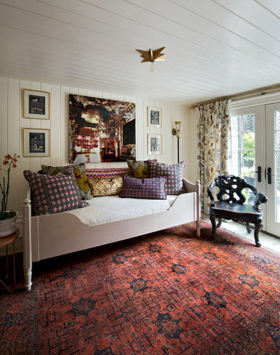 Eclectic Bedroom by Henrietta Southam