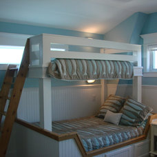 Beach Style Bedroom by Charles Fox Homes