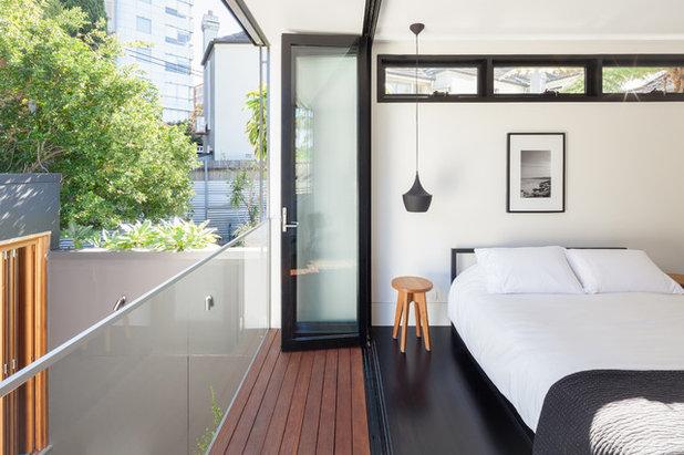 Contemporain Chambre by CNC Building