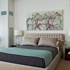 Modern Bedroom by Duffy Design Group