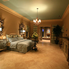 Traditional Bedroom by McNally Construction