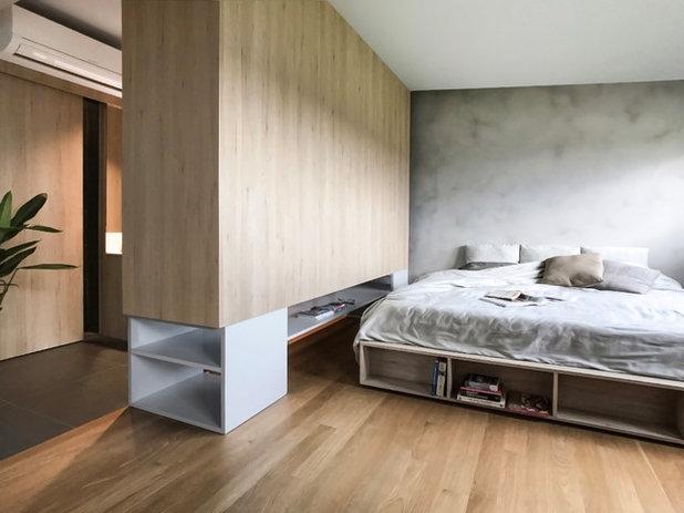 寝室 by nitton architects