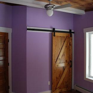 Midcentury bedroom in New York.