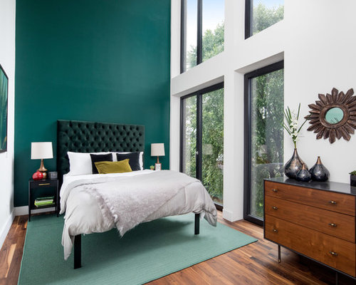 contemporary bedroom design ideas, remodels & photos | houzz