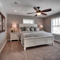 Craftsman Bedroom by Sustainable Nine Design + Build