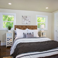 Transitional Bedroom by The Home Co.
