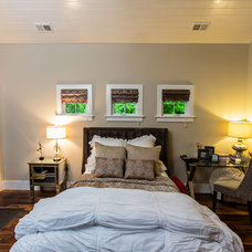 Transitional Bedroom by Archer Construction