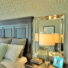Contemporary Bedroom by K. Miller Interiors