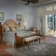 Tropical Bedroom by Boyatt Plans