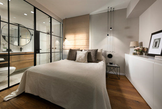 Contemporary Bedroom by Reuveni Interior Design