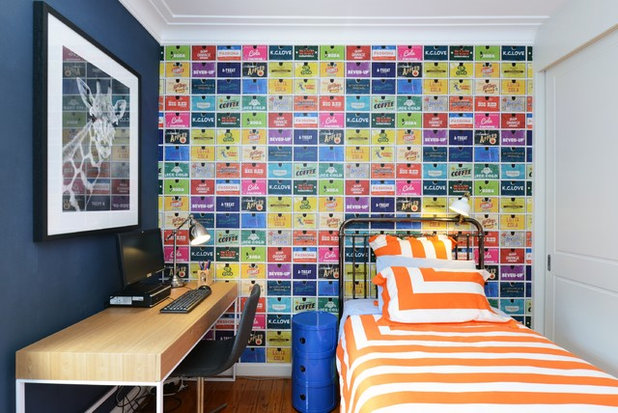 Contemporary Bedroom by Alix Helps Interiors