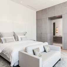 Contemporary Bedroom by Alonso & Associates, Inc.