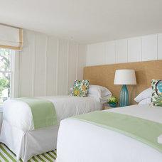Beach Style Bedroom by Rachel Reider Interiors