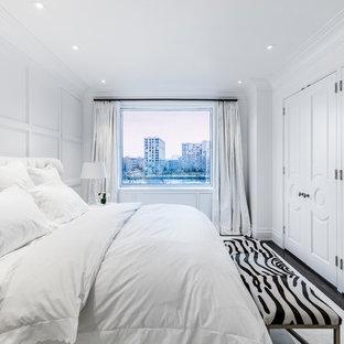 75 Most Popular Transitional Dark Wood Floor Bedroom Design Ideas