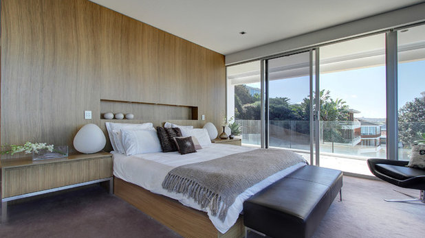 Contemporary Bedroom by Lexis Design Pty Ltd