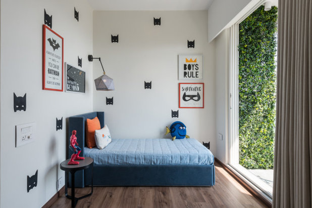 Contemporary Bedroom by loc design house
