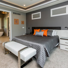 Contemporary Bedroom by Homes by DePhillips